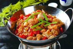 北京食堂承包教你干锅鱼杂的做法